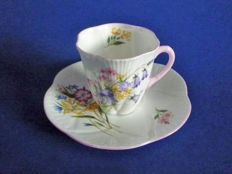 Shelley Fine Bone China Wild Flowers Pattern 13668 Dainty